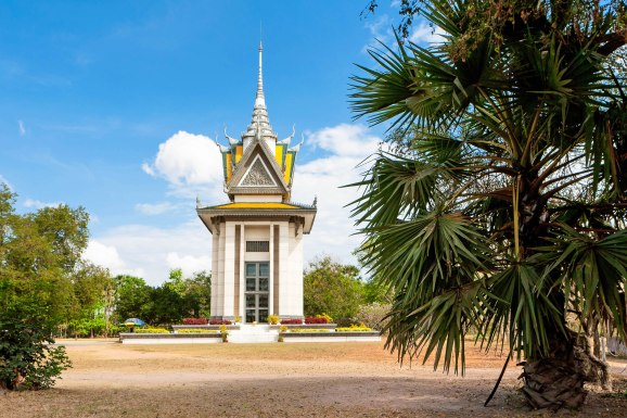 Choeung Ek Memorial Kambodscha, Erinnerung an die schrecklichen Hinrichtungen des Pol Pot Regimes