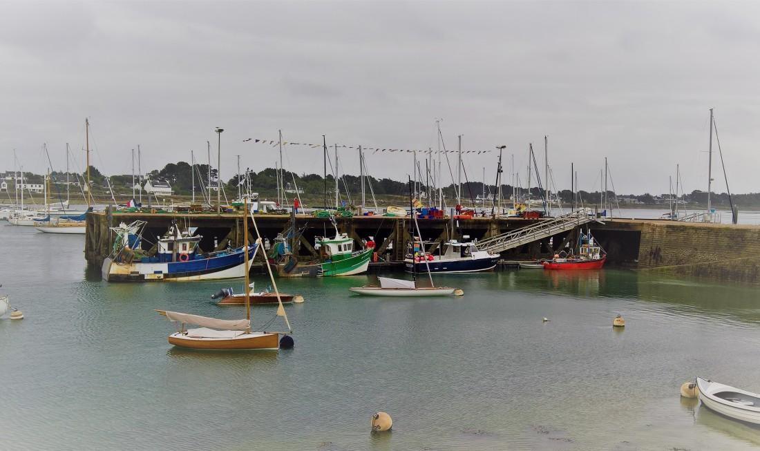 les petits bateaux de pêche, la Trinité sur Mer, juillet 2018.jpg